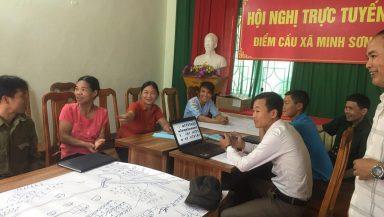 Giám sát đầu tư cộng đồng với công trình kênh mương thôn Lũng Vầy, xã Minh Sơn, tỉnh Hà Giang