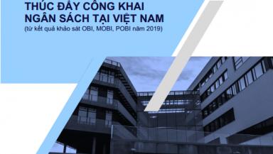 Hội thảo công bố chỉ số công khai ngân sách tỉnh (POBI) 2019