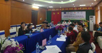 Liên minh Khoáng sản báo cáo tình hình thực thi Luật Tiếp cận thông tin tại Hà Giang