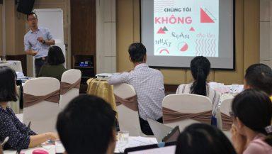 Tập huấn Truyền thông Thị giác cho Vận động chính sách (VĐCS)