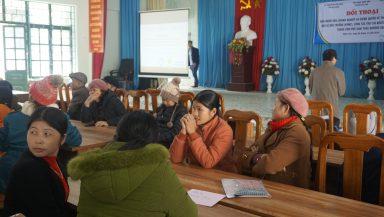 Đối thoại giữa Chính quyền, Doanh nghiệp và Người dân tại hai xã Mậu Duệ và Minh Sơn (Hà Giang) về khai khoáng