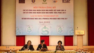 Chỉ số Công khai ngân sách (OBI) của Việt Nam: Việt Nam chưa có nhiều tiến bộ về công khai ngân sách