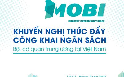 Khuyến nghị thúc đẩy công khai ngân sách Bộ, cơ quan Trung ương tại Việt Nam năm 2020